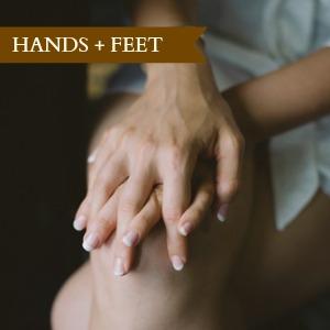 hands + feet